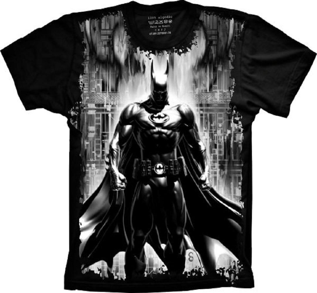 a844a66cb camiseta plus size super herói batman - homem morcego. Carregando zoom.