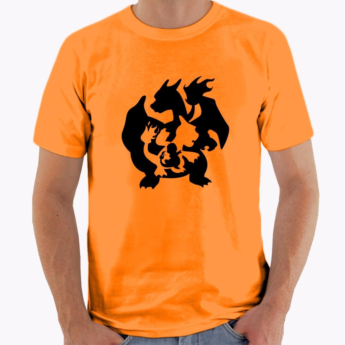 65bc39ac ... T Shirt Source · Camiseta Pokemon Charmander Evolution Charmeleon  charizard R 40
