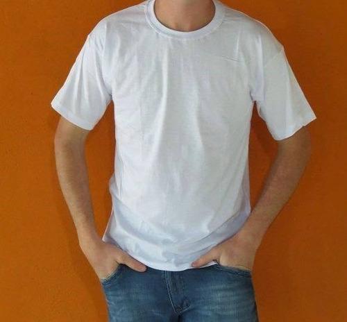 camiseta poliéster branca lisa