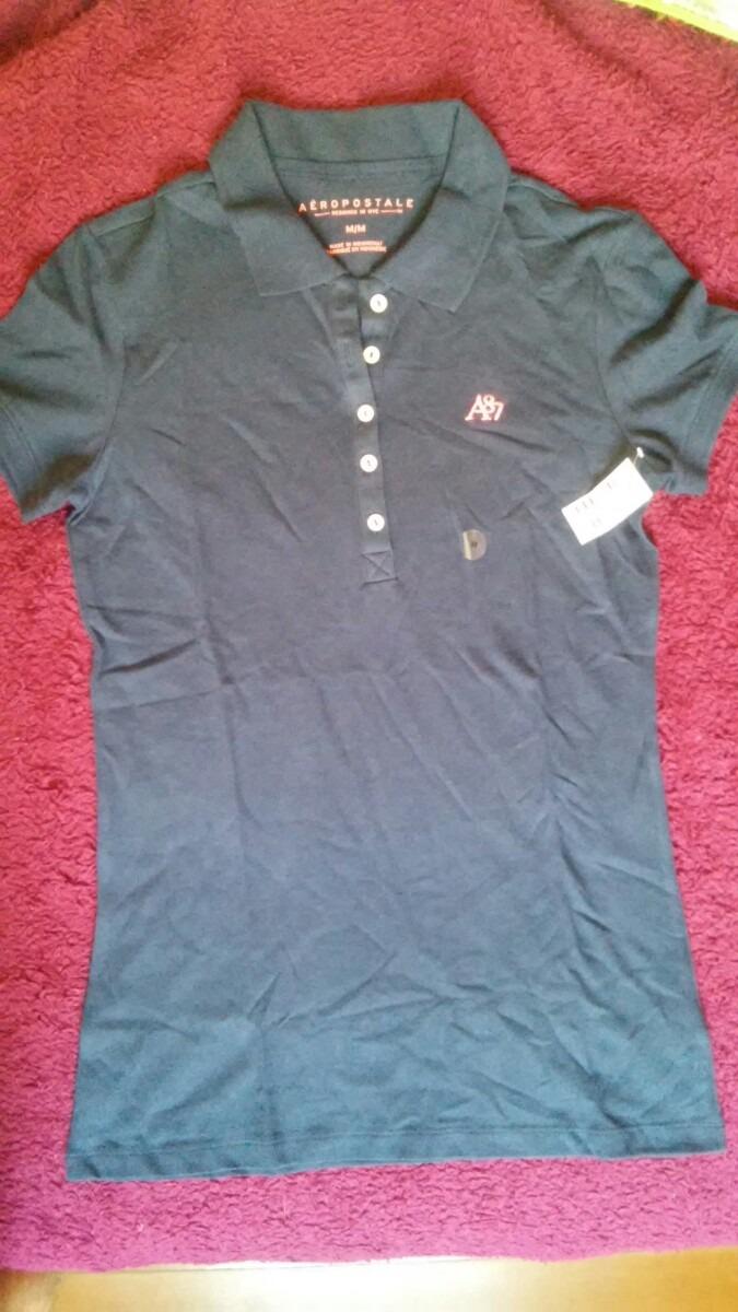 camiseta polo aeropostale - feminina - m. Carregando zoom. 73102337c4f27