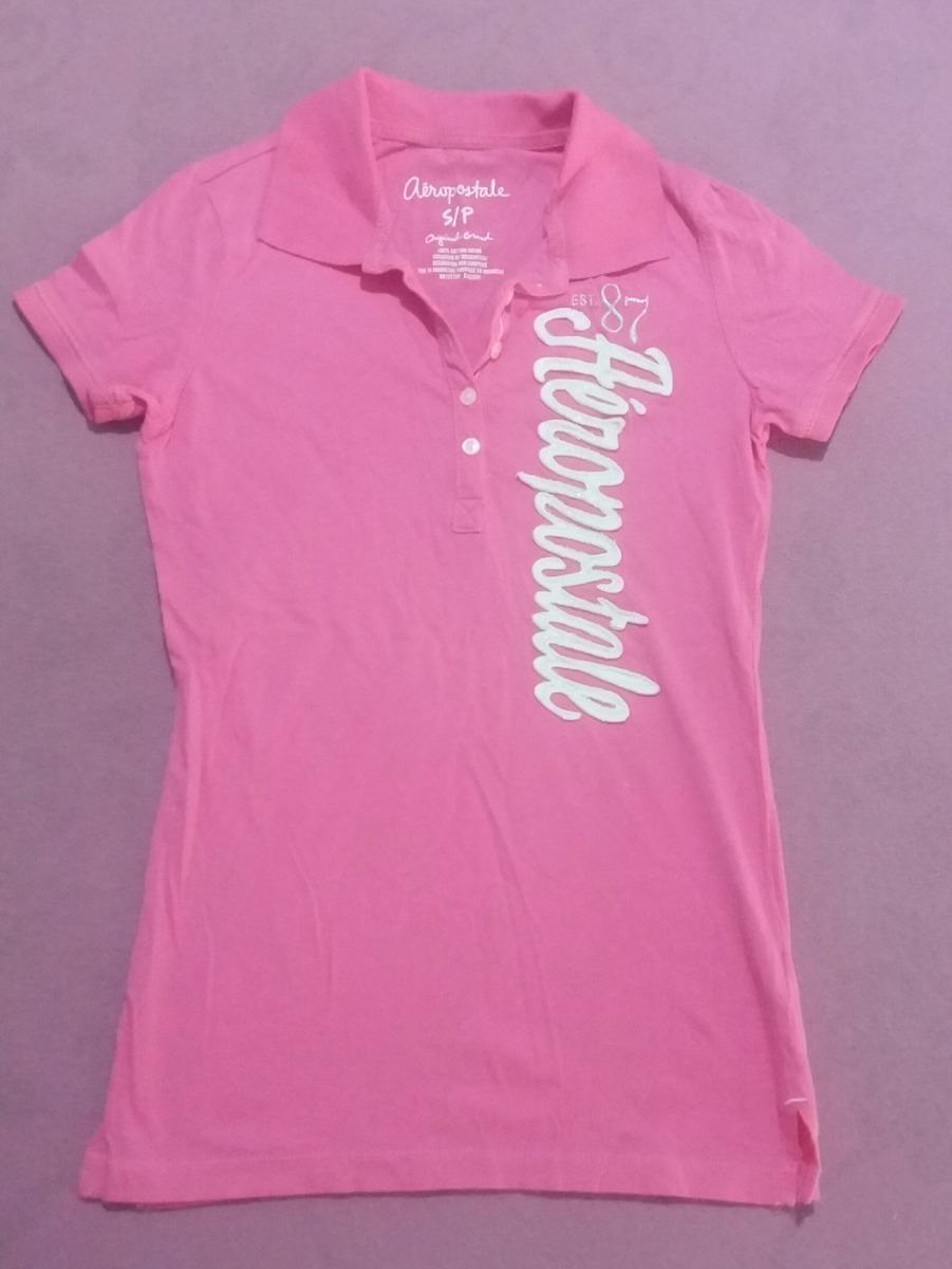 camiseta polo aéropostale feminina original. Carregando zoom. f2a793d7a9780