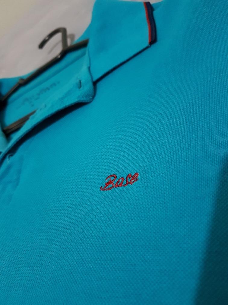 9f746a9a32ba8 camiseta polo base jeans. Carregando zoom.