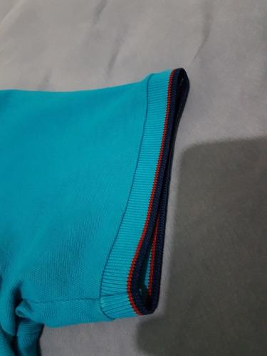 c0d831a72d160 camiseta polo base jeans. Carregando zoom.