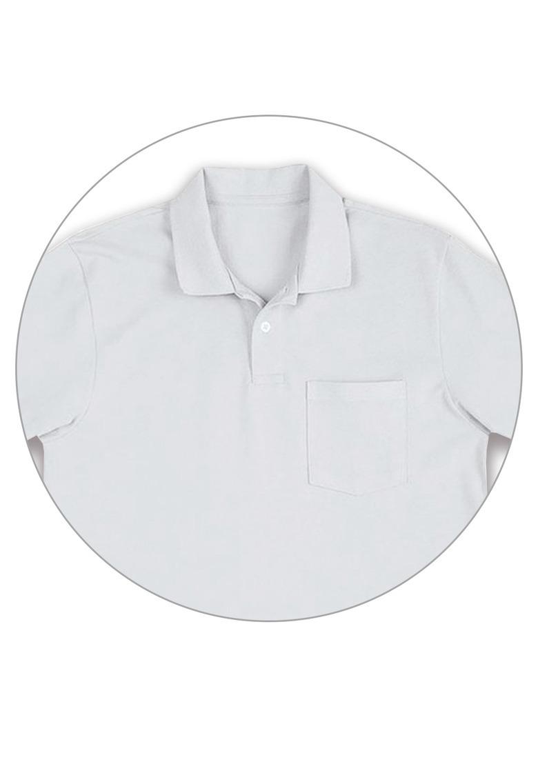 camiseta polo básica piquê branca masculina hering. Carregando zoom. 2b0098c939533
