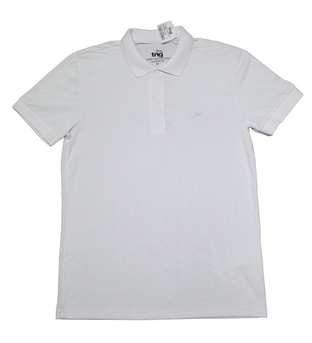 6647d2872799c camiseta polo basica tng. Carregando zoom.
