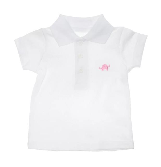 2e290f805 Camiseta Polo Blanca Bebés Baobao Ropa Para Bebes Pp. -   85.493 en ...