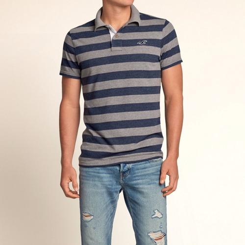 camiseta polo blusa hollister abercrombie gap masculina