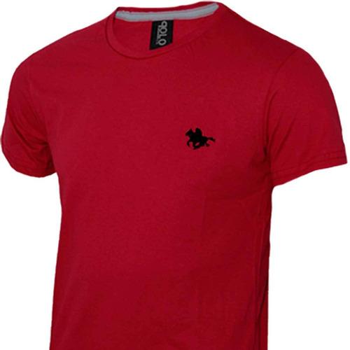 camiseta polo bordado com 05 cores - receba na sua casa