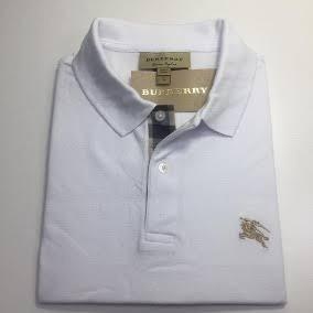 926af486448b Camiseta Polo Burberry Tam. G Slim Fit. Nova Branca Réplica - R  250 ...