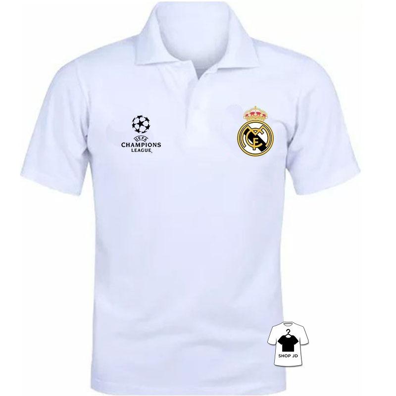 e23e6adb03d97 camiseta polo camisa polo real madrid champions 12x. Carregando zoom.