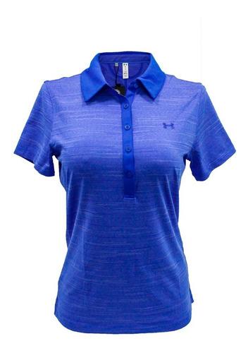 camiseta polo de golf para mujer under armour 1272336-985