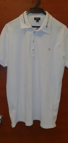 camiseta polo diesel talla xxl original cuello cierre