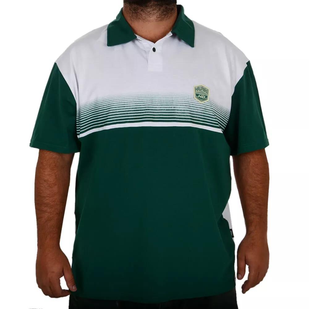 camiseta polo extra grande hd hawaiian dreams especial verde. Carregando  zoom. 778603e6323e5