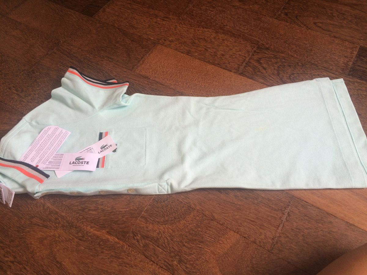 19d0aaf81cd93 camiseta polo feminina lacoste original com etiquetas. Carregando zoom.