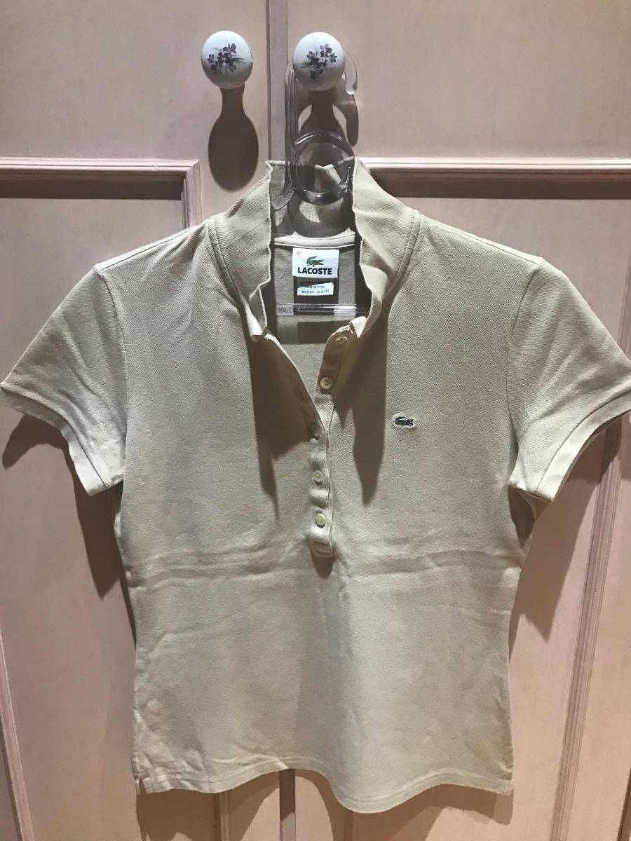 46ed46cbaff94 camiseta polo feminina lacoste original eua. Carregando zoom.