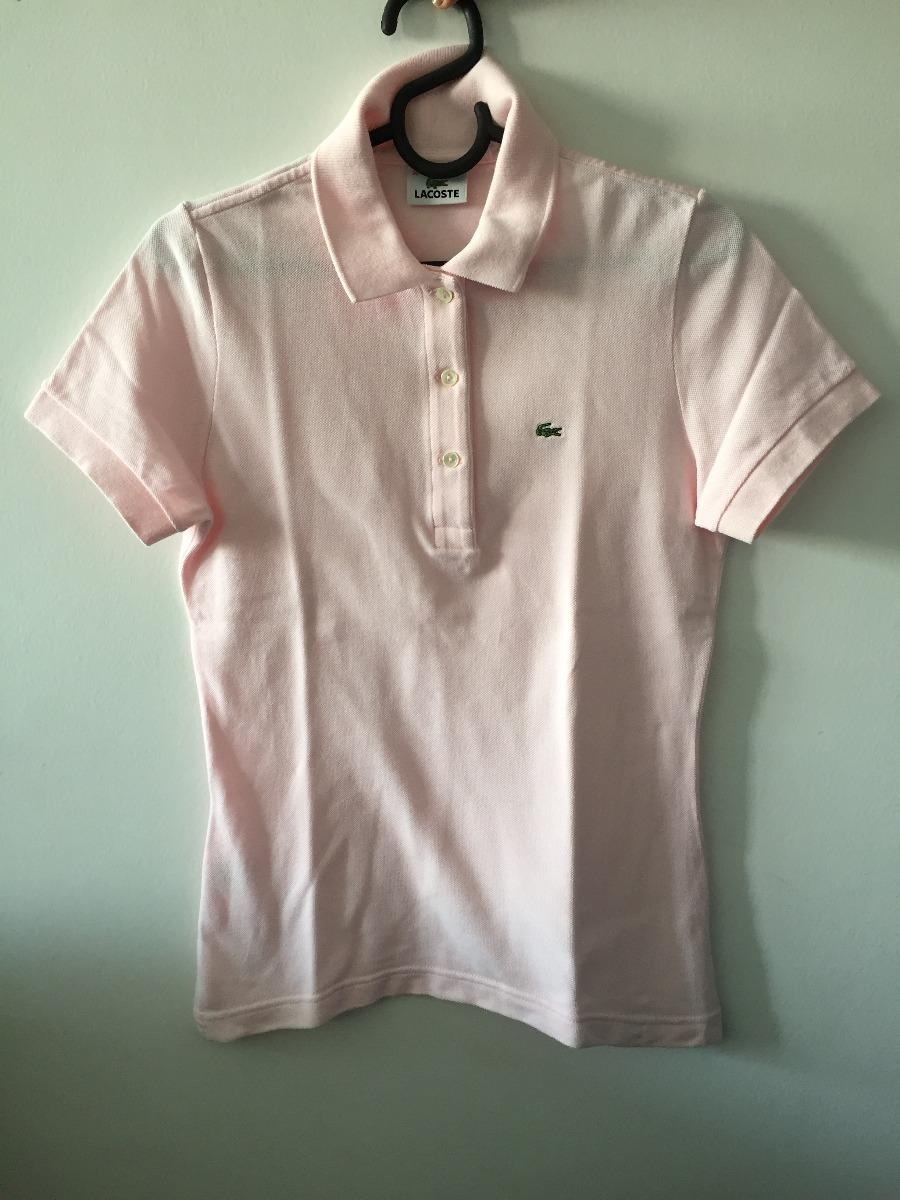 Camiseta Polo Feminina Lacoste Original (semi-nova) - R  49,00 em ... bf2568dedf