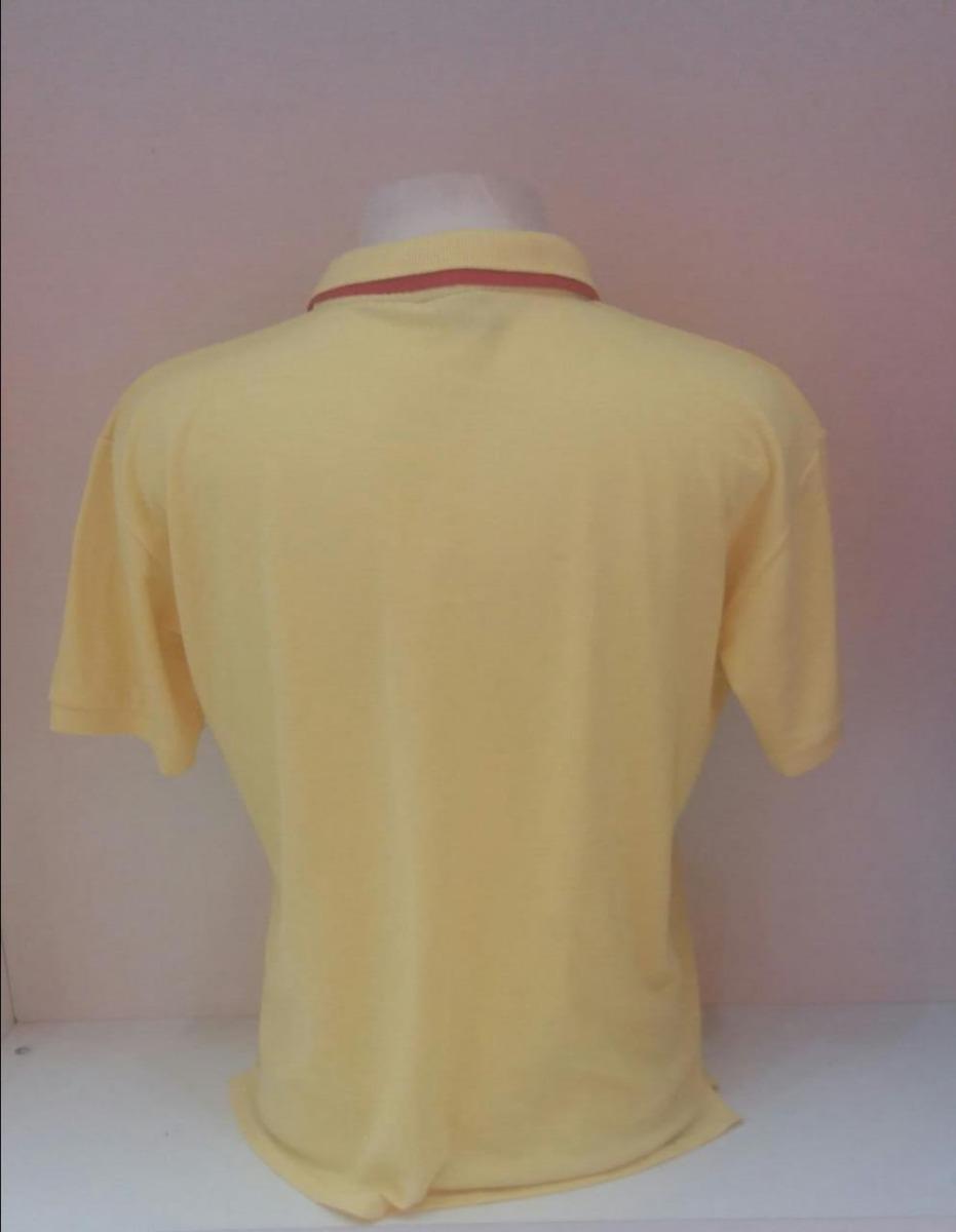 c9bd468446 Camiseta Polo Formula 1 Ferrari Amarela - R$ 34,90 em Mercado Livre