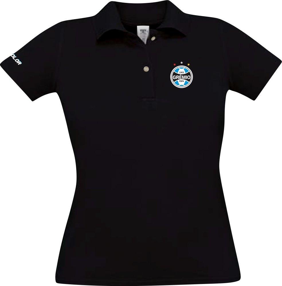 camiseta polo gremio torcedor masculino e feminino azul. Carregando zoom. b01d7f3c366ec