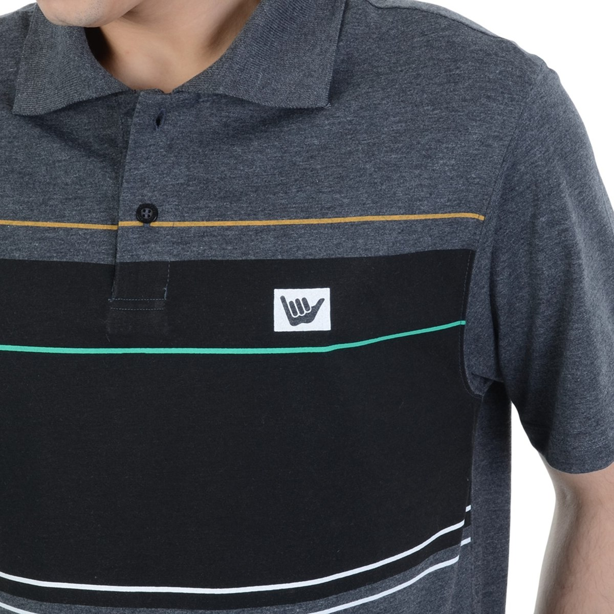 camiseta polo hang loose lineup. Carregando zoom. 744075e2b2e9a
