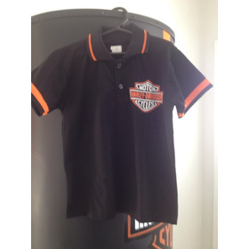 Camiseta Polo Harley Infantil