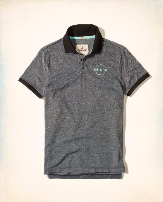 Camiseta Polo Hollister Abercrombie Masc Original Tam G Cz c - R ... 576663bd97a7e