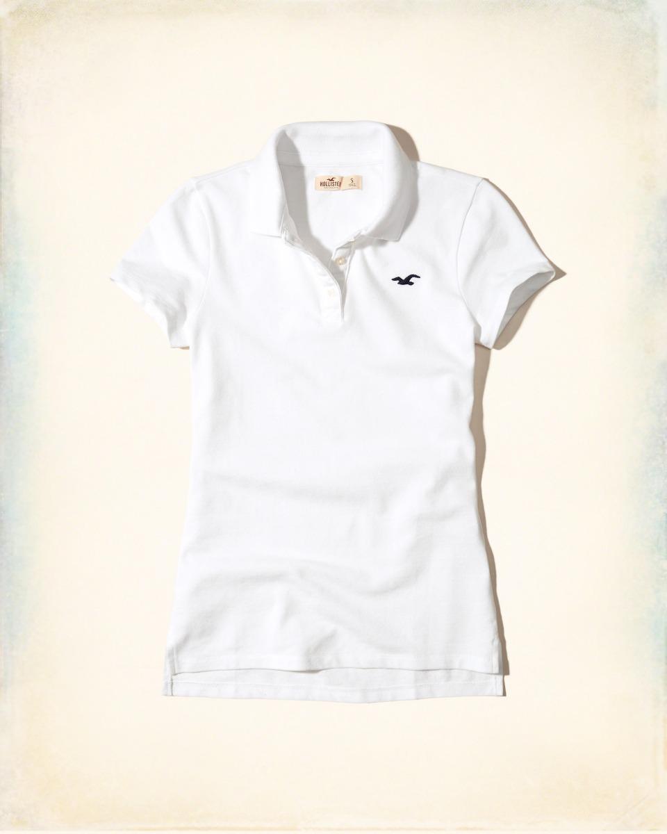 59d43b3c1a camiseta polo hollister feminina 100% original 2 cores fr g. Carregando  zoom.