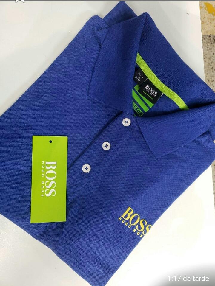 Camiseta Polo Hugo Boss - R  119 87733c0351d