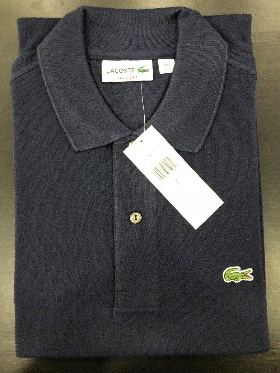 camiseta polo lacoste classic fit promoção frete grátis top. Carregando  zoom. 50155c7543