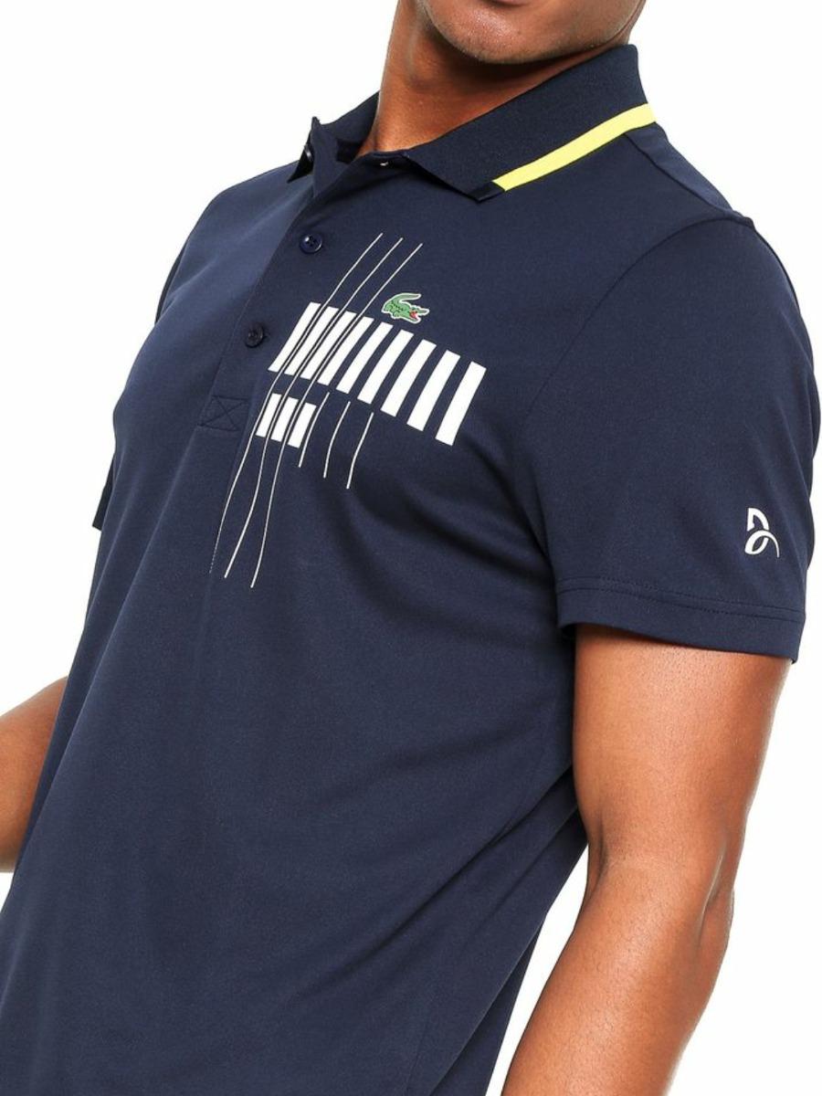 Camiseta Polo Lacoste Edicao Novak Djokovic T3 - R  389,90 em ... 864c05767a