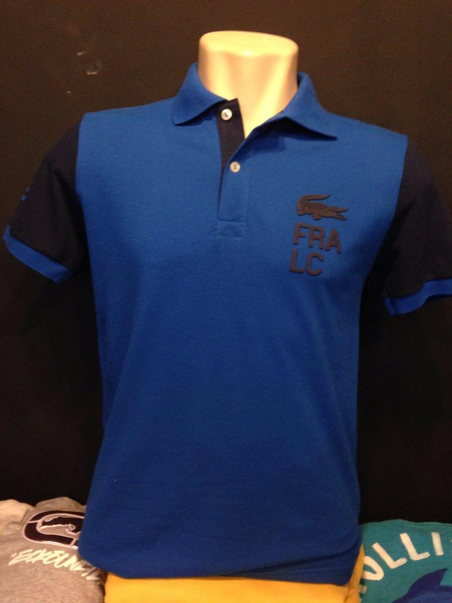 c1f49e5e01516 camiseta polo lacoste fra lancamento tam p azul linda 1864 D NQ NP 226201  MLB20286613855 042015 F