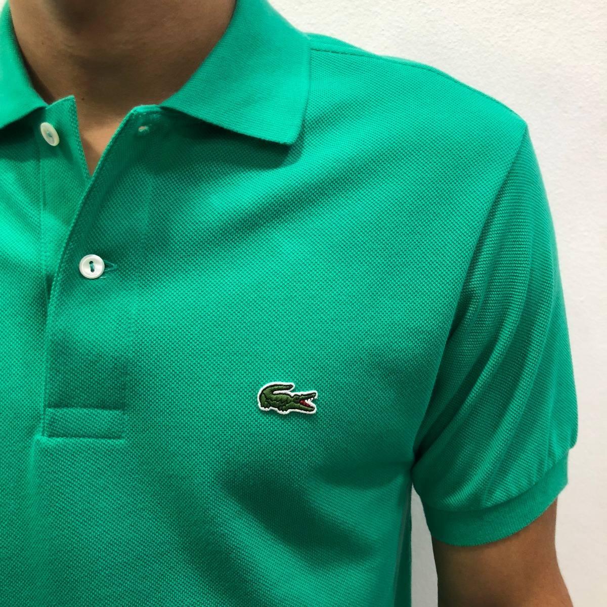 camiseta polo lacoste original frete grátis top exclusivo. Carregando zoom. 644df10b48