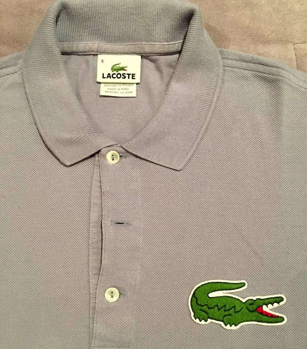 a9612a3ca34 camiseta polo lacoste original lilás. Carregando zoom.
