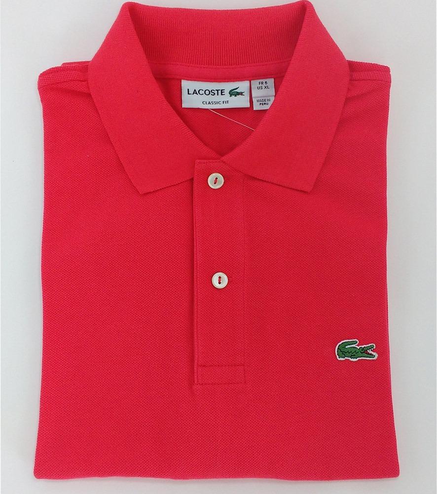 e3a56a04ef4 camiseta polo lacoste original peruana ralph lauren hugobos. Carregando  zoom.