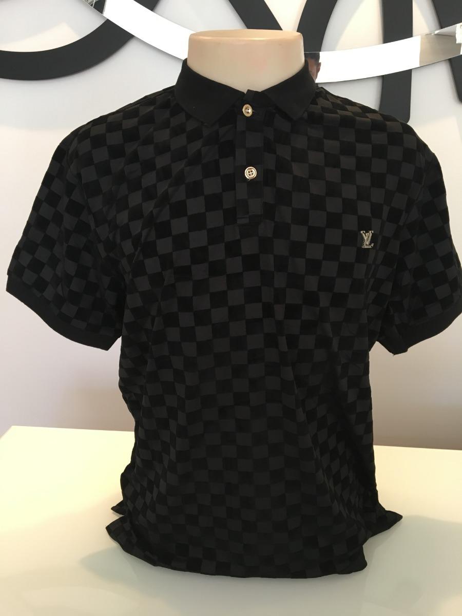 3b06e5d29 camiseta polo louis vuitton - modelo 2018 - pronta entrega. Carregando zoom.