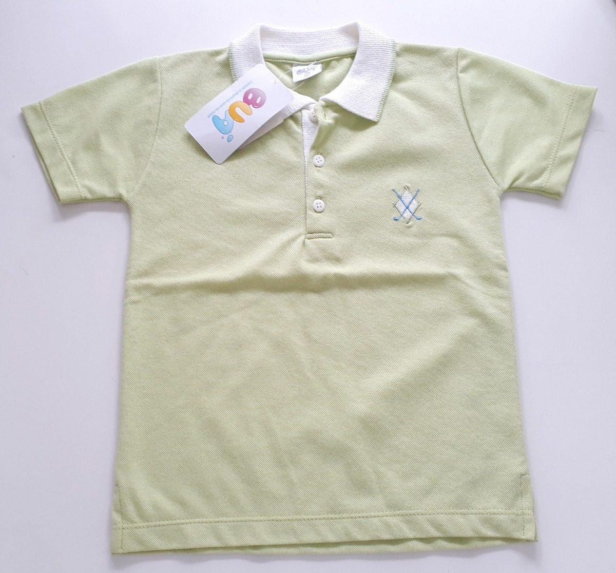 7b4dfda23 camiseta polo manga curta infantil masculino buá. Carregando zoom.