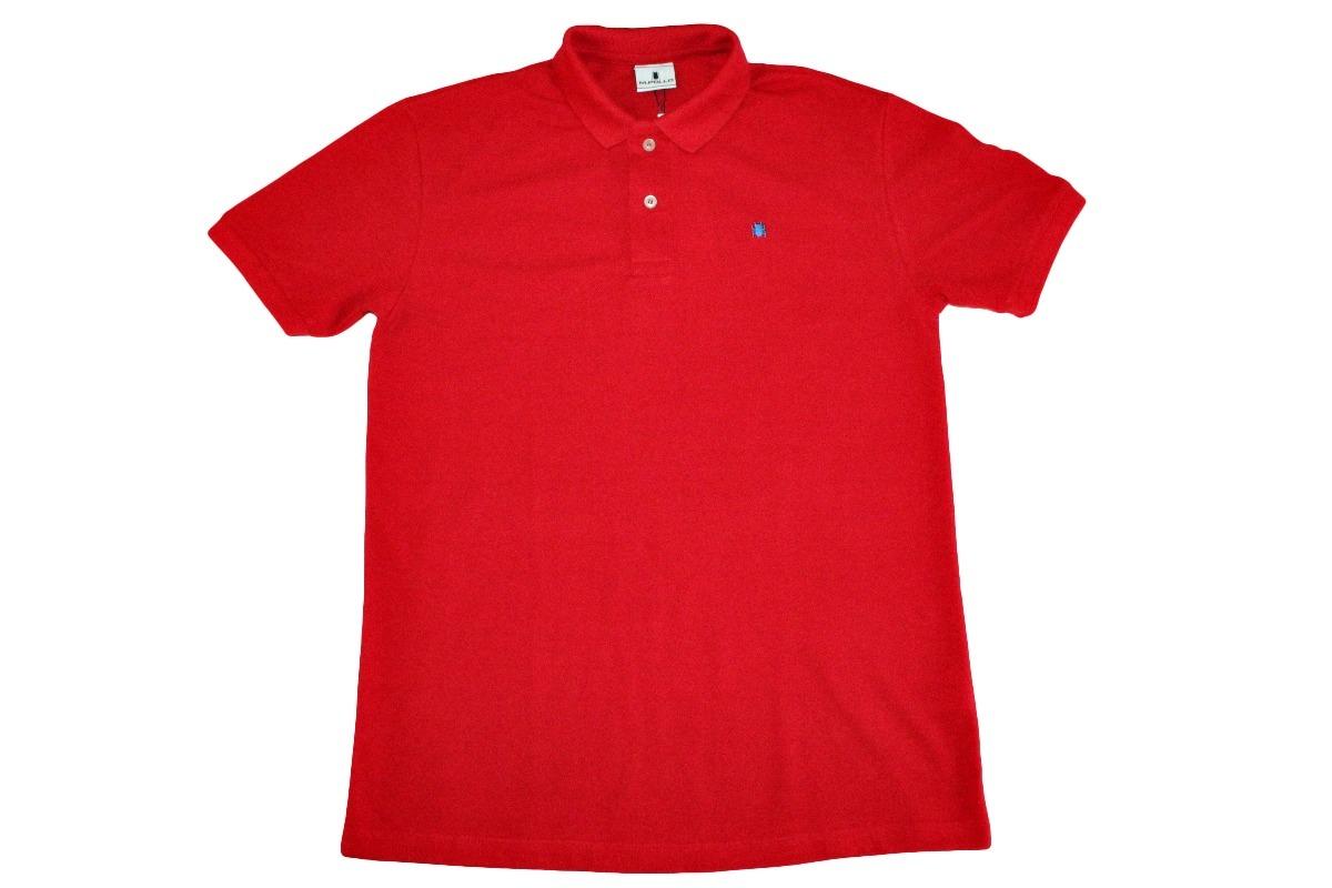 camiseta polo masculina básica lisa vermelha - mpollo. Carregando zoom. 94a25b1302073