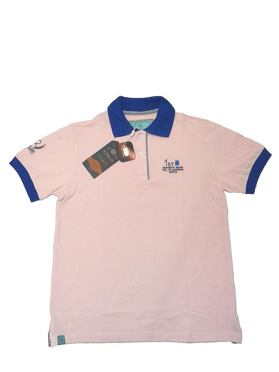 camiseta polo masculina de marca cor rosa - mpollo. Carregando zoom. 9e60a9b44c539