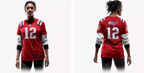 camiseta polo nike  mujer oficial futbol americano