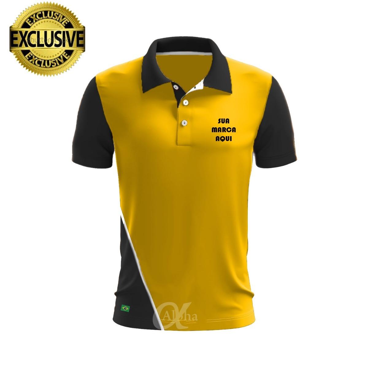 9cde0cfbf3 camiseta polo personalizada uniformes kit 37 peças. Carregando zoom.