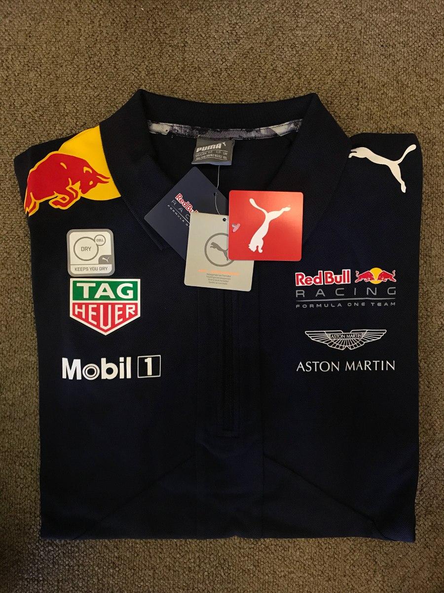camiseta polo puma red bull racing team - masc - original- g. Carregando  zoom. 5e3c8b7bb2b80