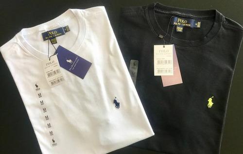 camiseta  polo ralph lauren  importada do peru - 3 peças