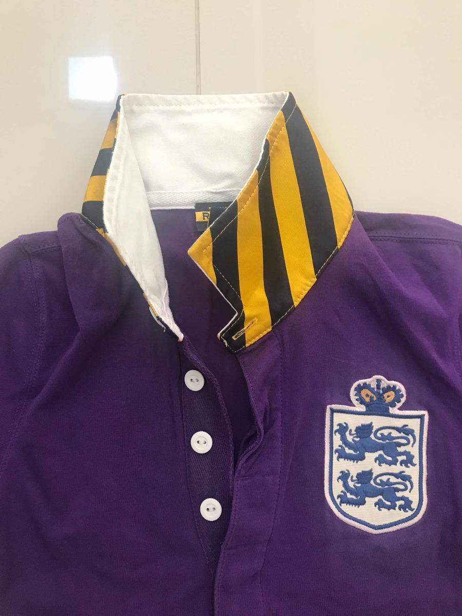 camiseta polo ralph lauren tam p roxa com bordado original. Carregando zoom. 7b235ac4644