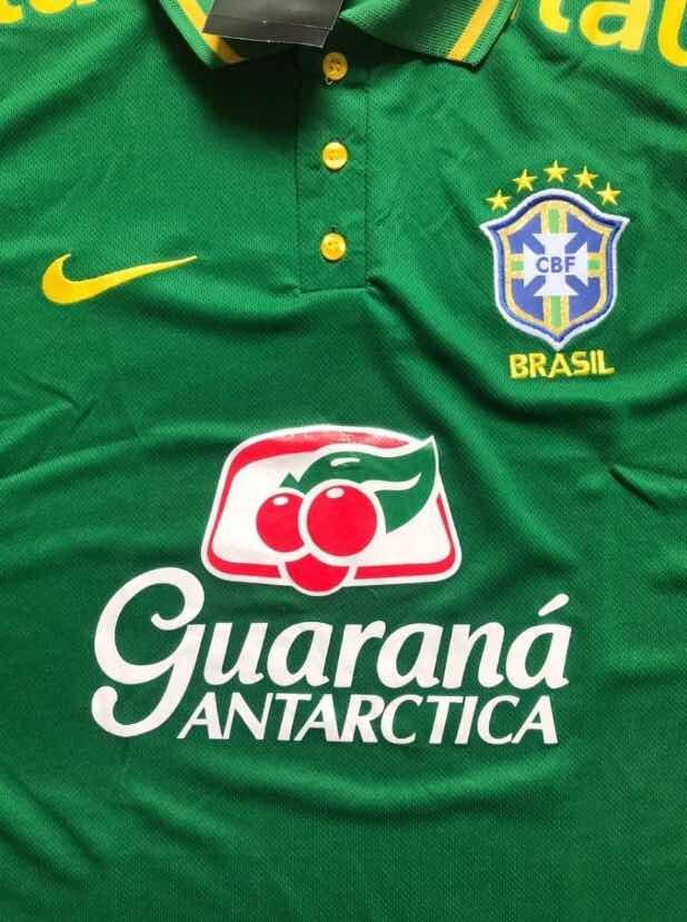 075a1150cf camiseta polo seleção brasileira camisa brasil copa 2018. Carregando zoom.