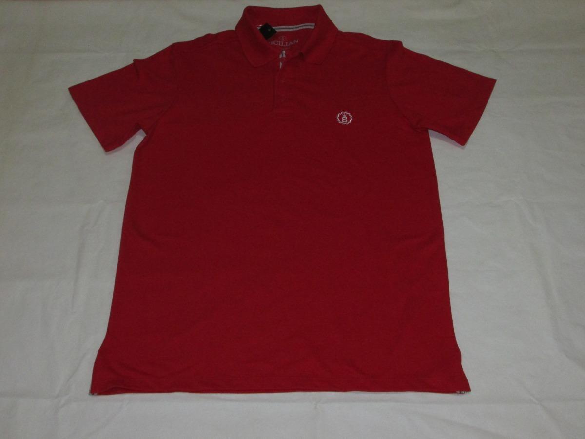 aafe370b61df Camiseta Polo Sicilian Original - Revenda Autorizada - R  89