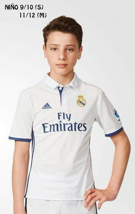 Camiseta Polo Sudadera adidas Club Real Madrid Niño Ii - S  99 9a280fbd85299