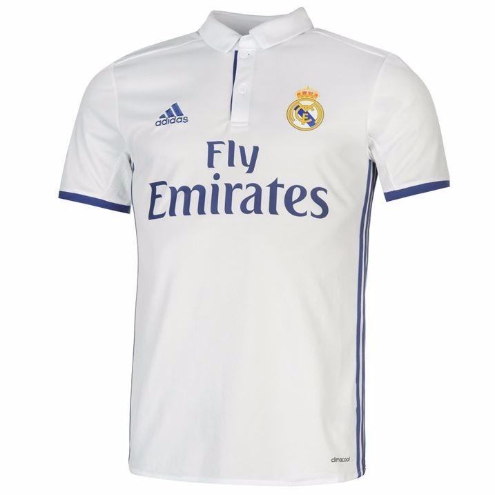 38a14f2298e0d Camiseta Polo Sudadera Fútbol Running adidas Real Madrid 1 - S  179 ...