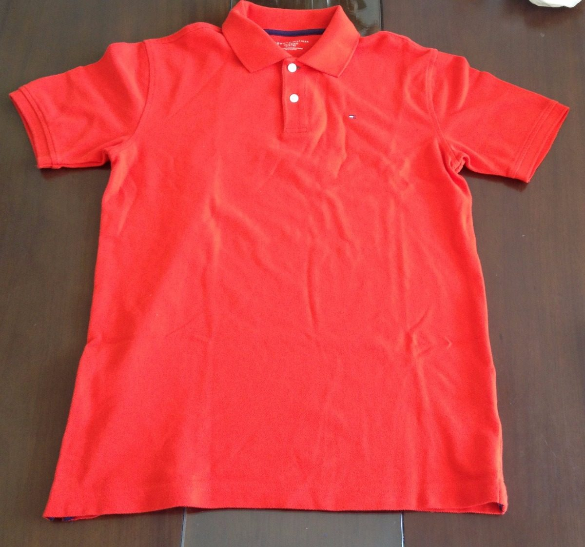 a5f278d40 camiseta polo tommy hilfiger original(xl 16-18 anos). Carregando zoom.