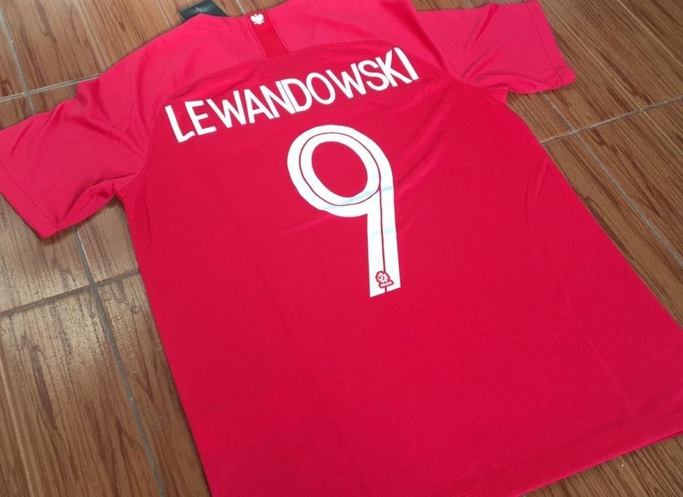 camiseta polonia mundial rusia 2018 lewandowski. Cargando zoom. 75a673af9462a