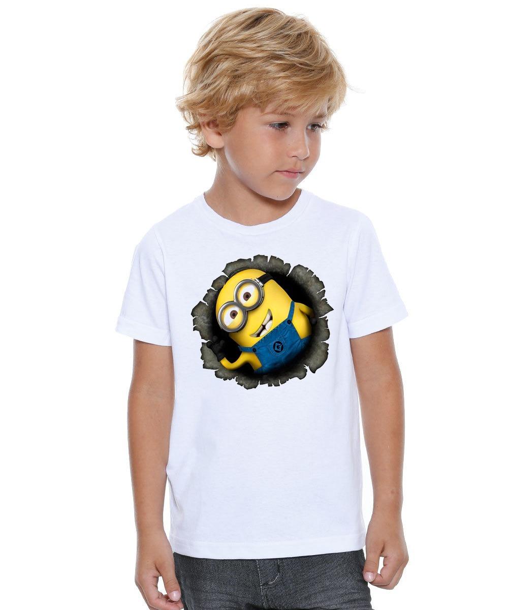 831f51ba45 camiseta polyester infantil e adulto personalizada minions. Carregando zoom.