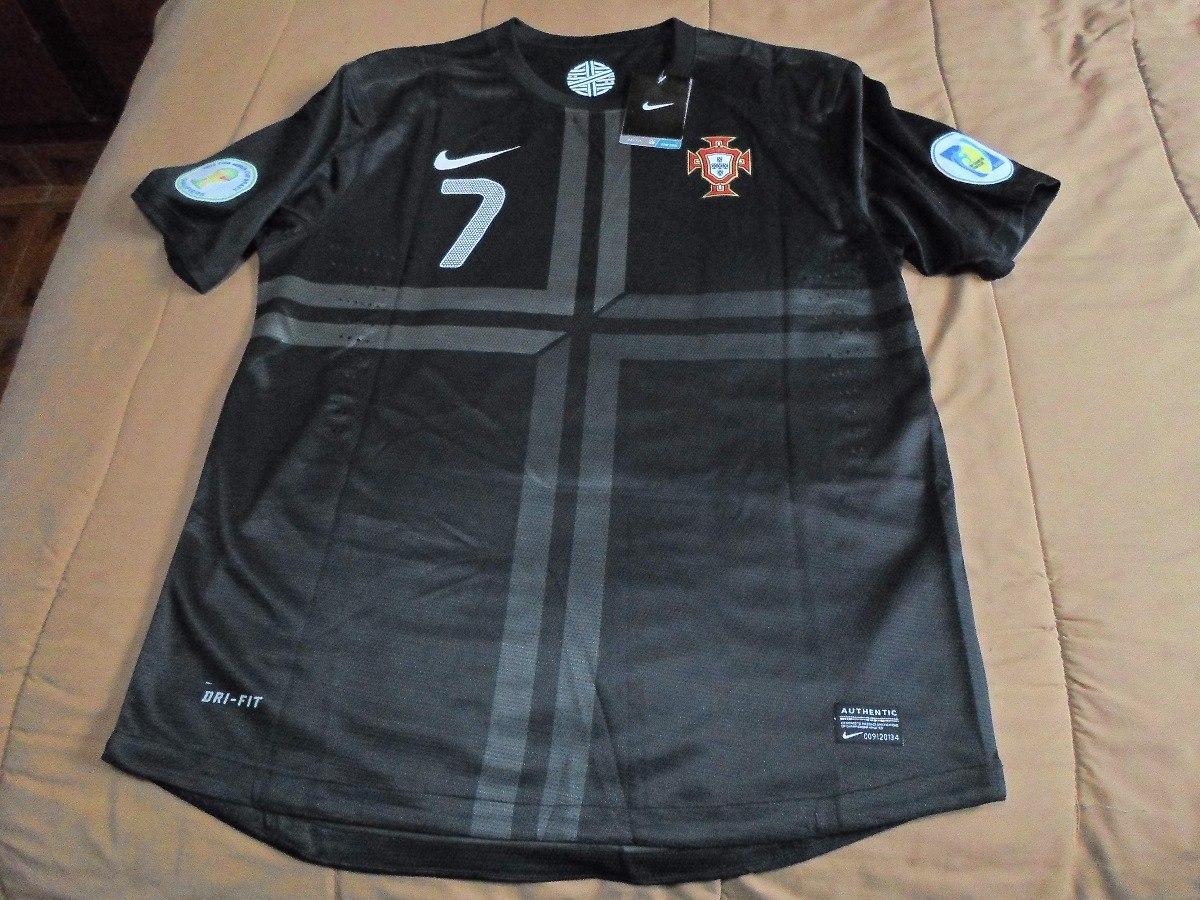 81f9f7237f camiseta portugal negra 2013 ronaldo. Cargando zoom.